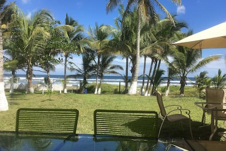 Excellent House on the Beach in Costa Esmeralda