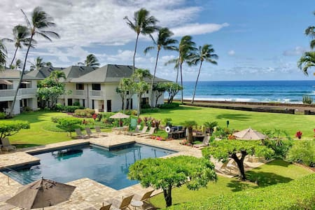 New! Poipu Beach, Ocean Views, Pool, Tennis, & A/C