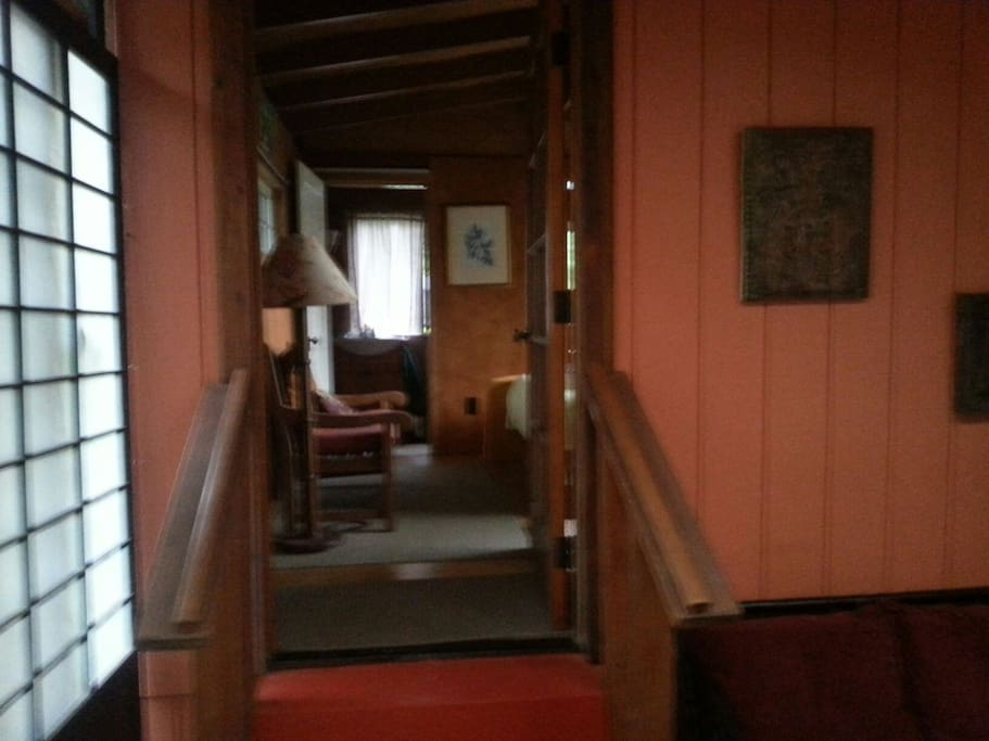 Entrance to guest room.