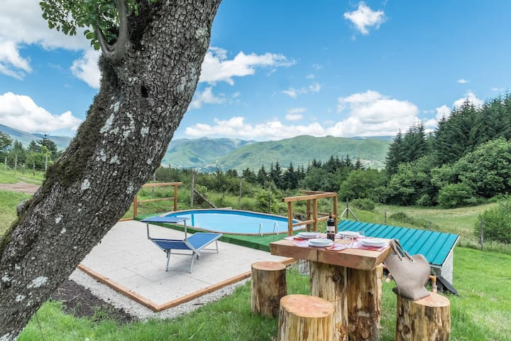 MEDITATION PLACE with POOL in GARFAGNANA - Casciana - Talo