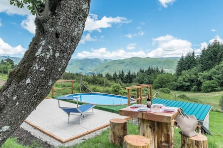 MEDITATION PLACE with POOL+ WIFI in GARFAGNANA - Casciana - House