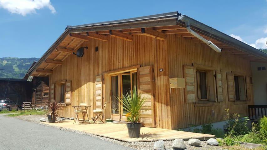 'Maison du Bois', cosy alpine home under Mt.Blanc.