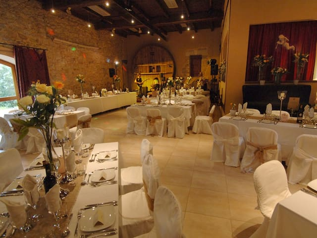 Chateau du Puits es Pratx restaurant.