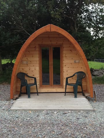 Perfect Camping Pods for 4 people