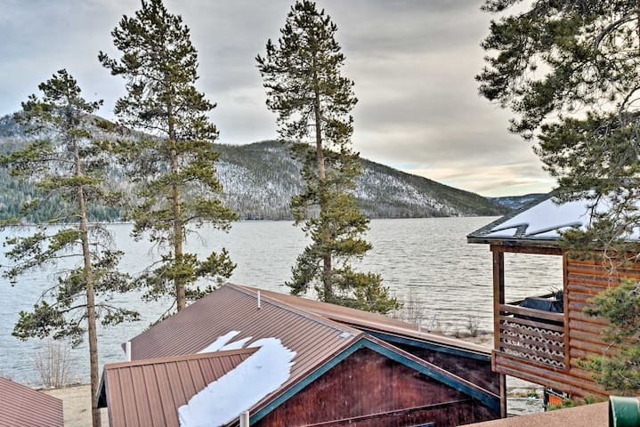 Situated steps from Shadow Mountain Lake and a matter of minutes from Granby!