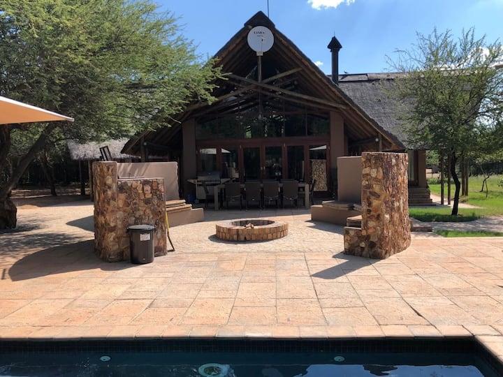 Luxury Self-Catering Lodge, Black Rhino Reserve
