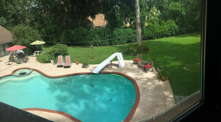 Apartment - Pool, Access to Bayou, 30 min to NOLA