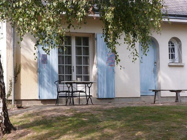 Chambre en bord de Loire, circuit Loire à vélo - Rochefort-sur-Loire - Rumah