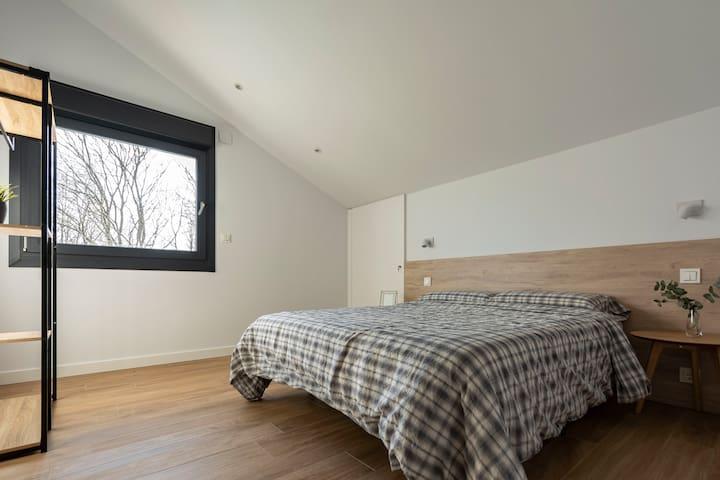 Habitacion doble con cama matrimonio 4