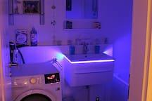 Bathroom - a hightech washing dryer