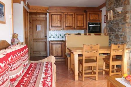 Confortable appartement T3 avec piscine et SPAS - Mâcot-la-Plagne - Leilighet