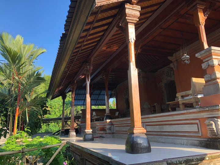 Large family house nearby Ubud