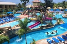 Do a day pass at Jewels Water Park (20 minutes drive)