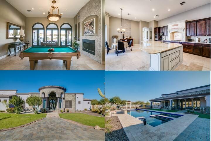 Modern Celebrity Estate:  Entertainer Dream Home