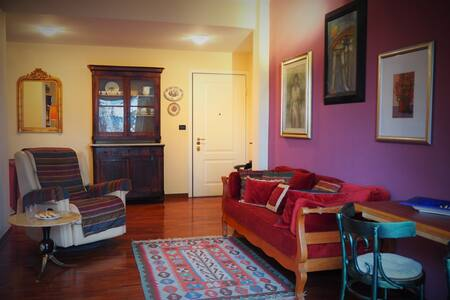 Wonderful apartment with 3 level garden - Genoa