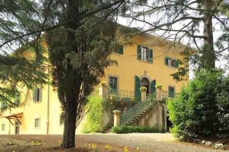 Villa di Montegemoli - Elegant Villa with Staff - Pomarance - Huvila