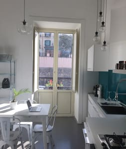Double room with private bathroom wifi (Old Town) - Cosenza