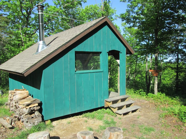 The East Glade Shelter at Windblown NH