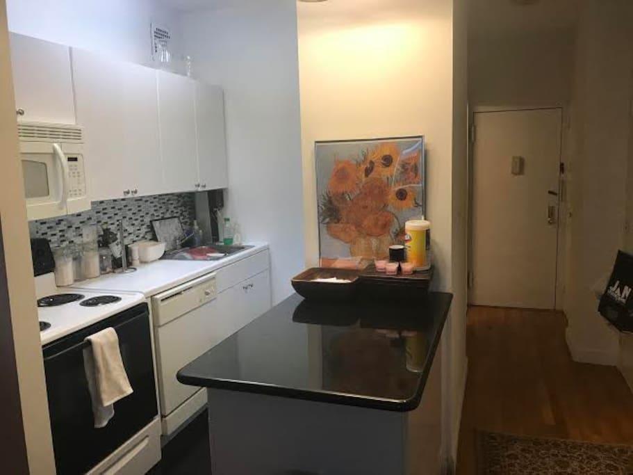 Kitchen/Front Door/Hallway