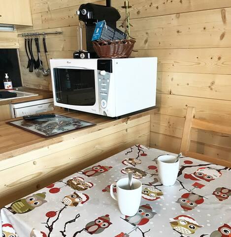 Coin Cuisine Nespresso Micro Onde