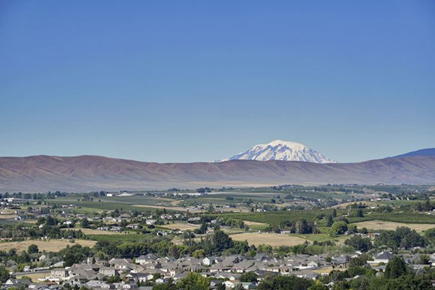View of Mount Adams from the property