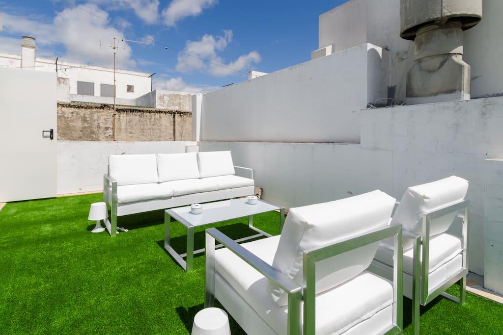 City center with wifi terrace garage with fee - Taxi puerto de santa maria ...