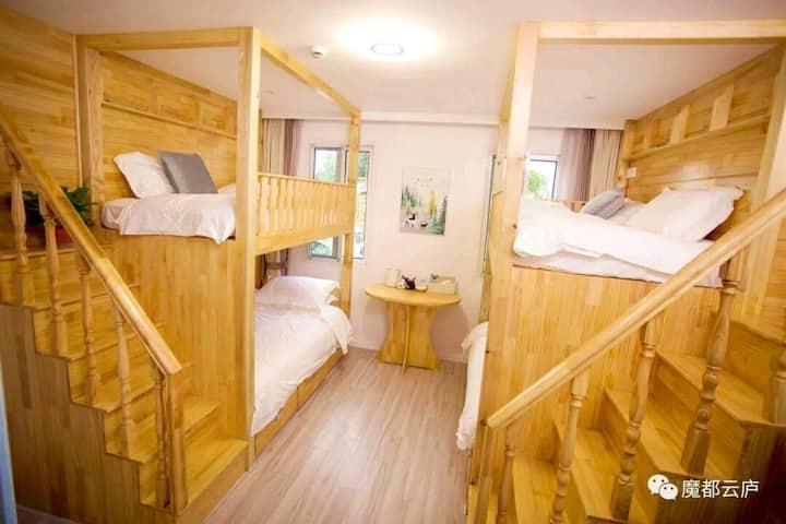 亲子高低双床房