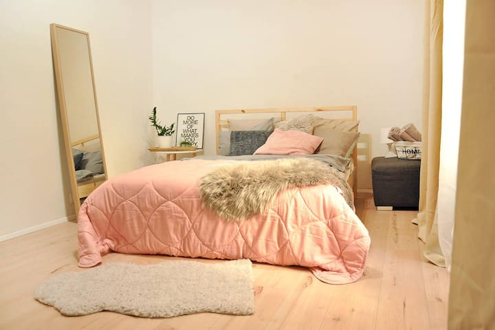 The cozy apartment in a great location! :)