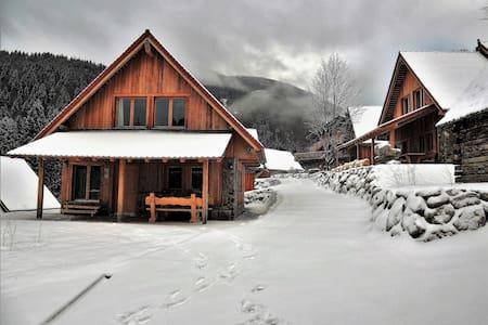 DOLOMITI VILLAGE - Povolaro - Blockhütte