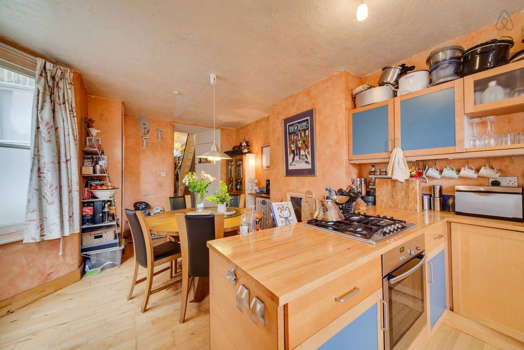 Spacious, comfortable kitchen with eating area - there is also outdoor decking for al fresco dining.