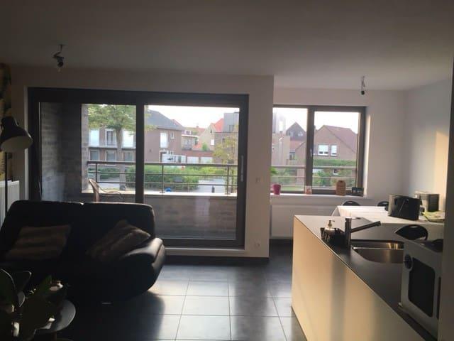 Lovely appartement 5 minutes from city center - West-Vlaanderen - Apto. en complejo residencial