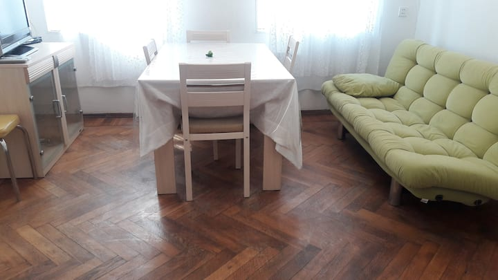In the center of Baku is a two-room apartment