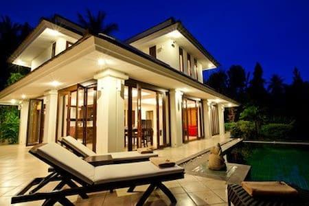 Stunning villa with private pool. - Ko Samui - House