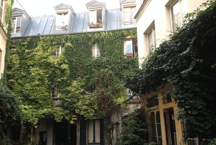 Silence & verdure au coeur de Paris