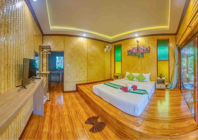 Bamboo Cottage 3 / with Fan / Double Bed