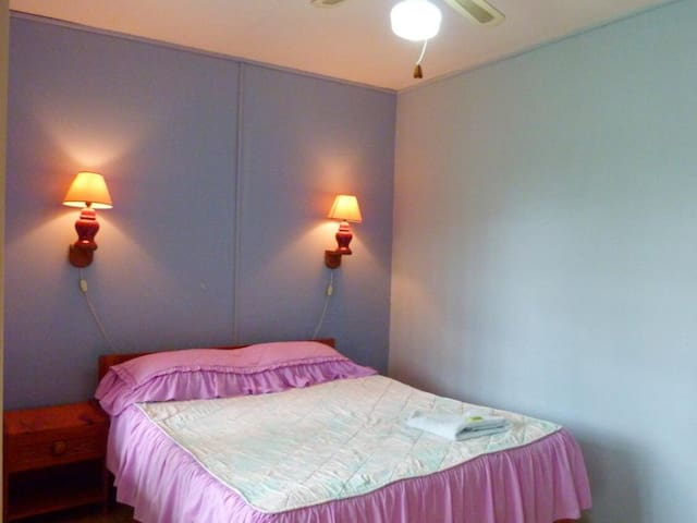 Double room with 1 bed in ground floor without A/C. Hotel Naralit