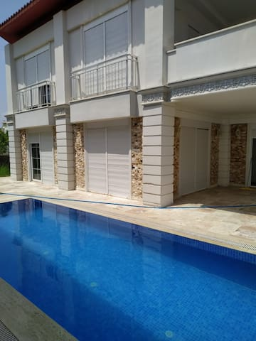 belek  private villa with private pool