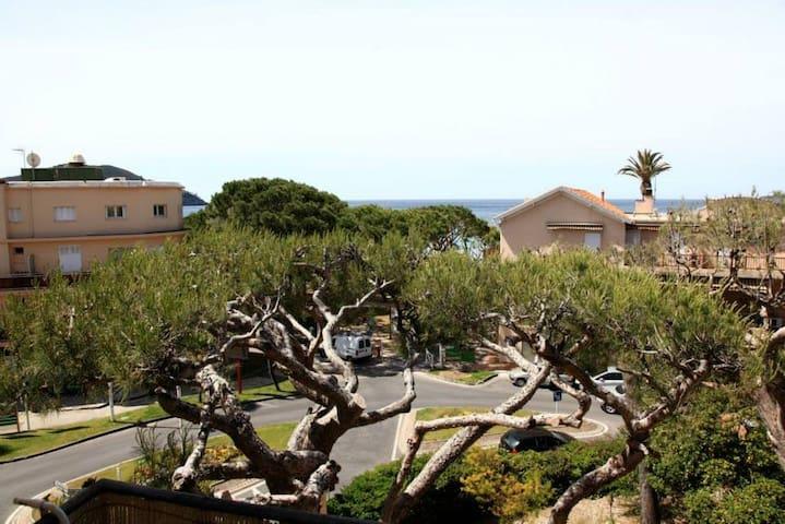 Studio duplex vue mer a 50 m de la plage - Saint-Cyr-sur-Mer - Appartement