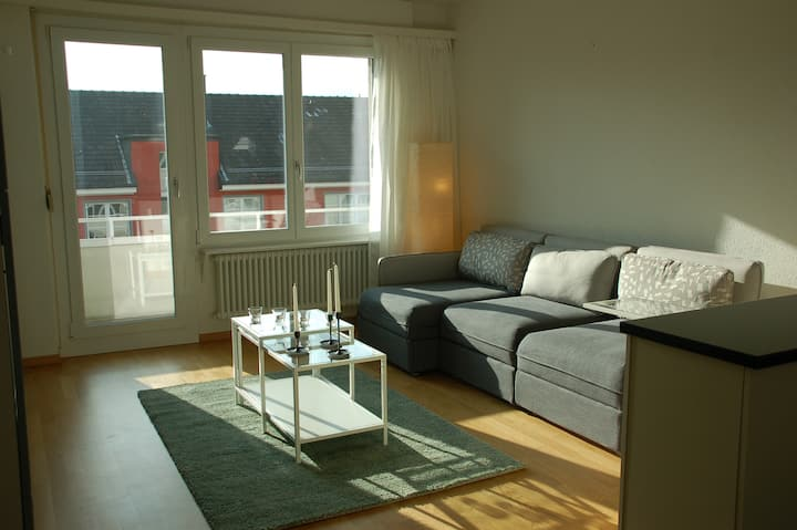 2BR Centrally Located Flat With Balcony