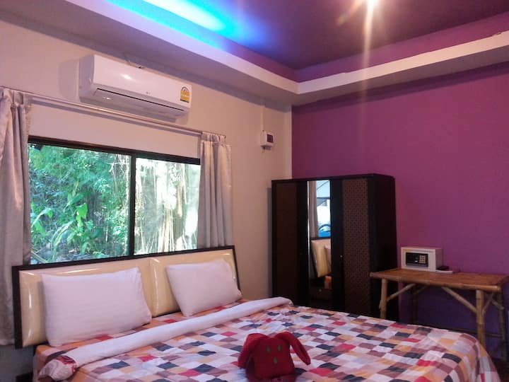 Private bungalow with aircon