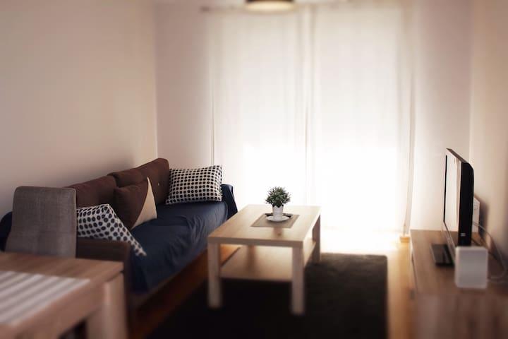 Duży przytulny Apartament z balkonem