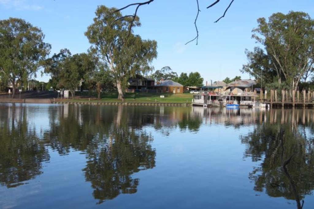 View across the Darling River