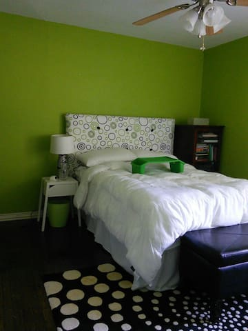 Green Guest Room - Dallas - House
