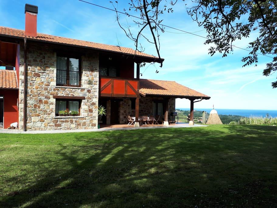 Mar y monta a villa en lekeitio casas rurales en alquiler en ispaster pa s vasco espa a - Casas pais vasco ...