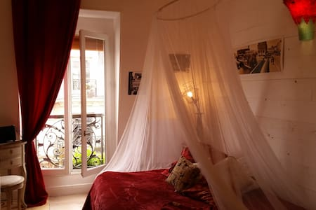 Paris romantique studio Montmartre - Paris - Apartment