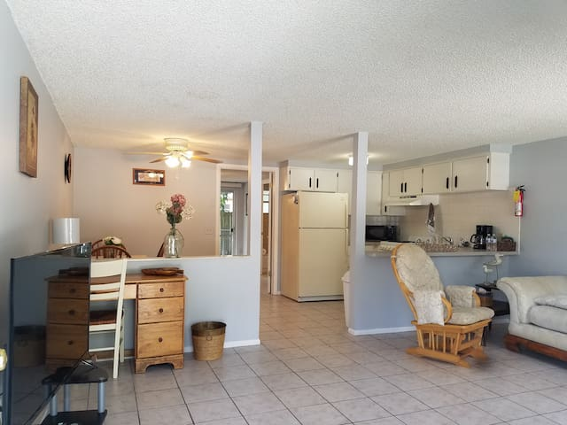 Spacious, quiet, cozy home 1 block from Downtown