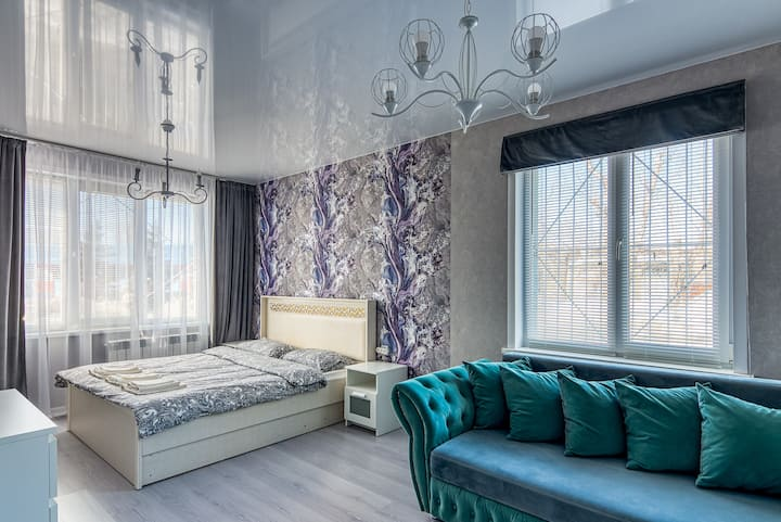 Светлая квартира в сердце Казани