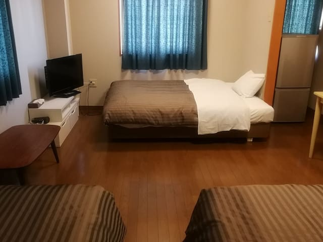 Cozy & Large Room - Free Parking - Max 4 people