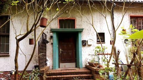 自然に囲まれた小さな個別アパート