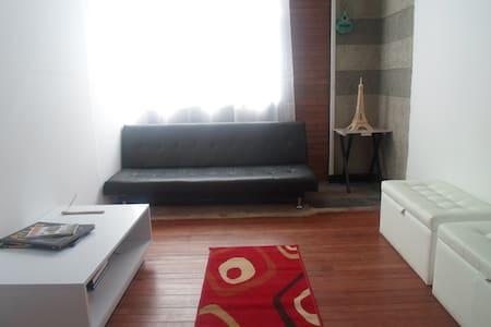 Habitación a 10 minutos del centro de la ciudad - Bogotá - Appartement